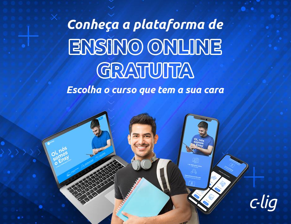 Ensy, plataforma de ensino gratuita